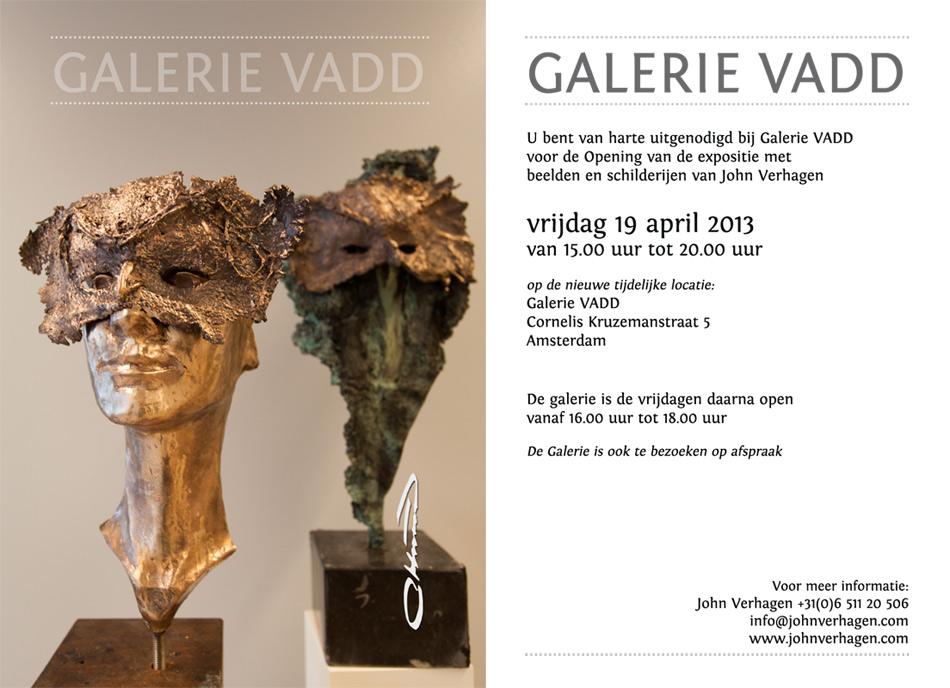 Uitnodiging Galerie VADD